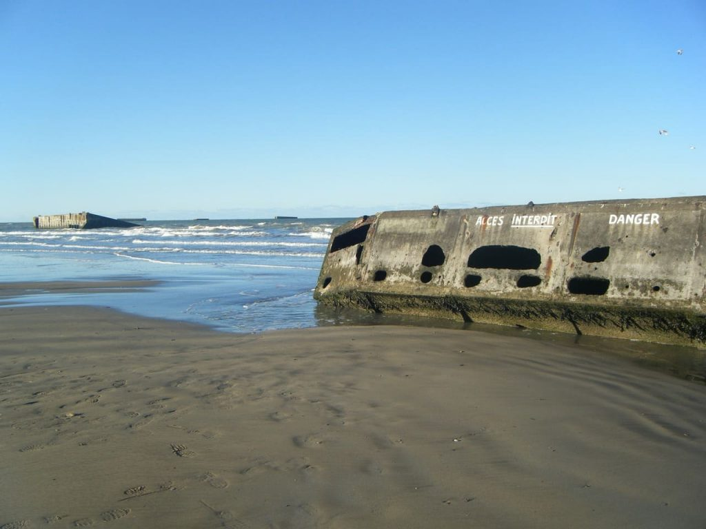 Le spiagge del D-Day ad Arromanches