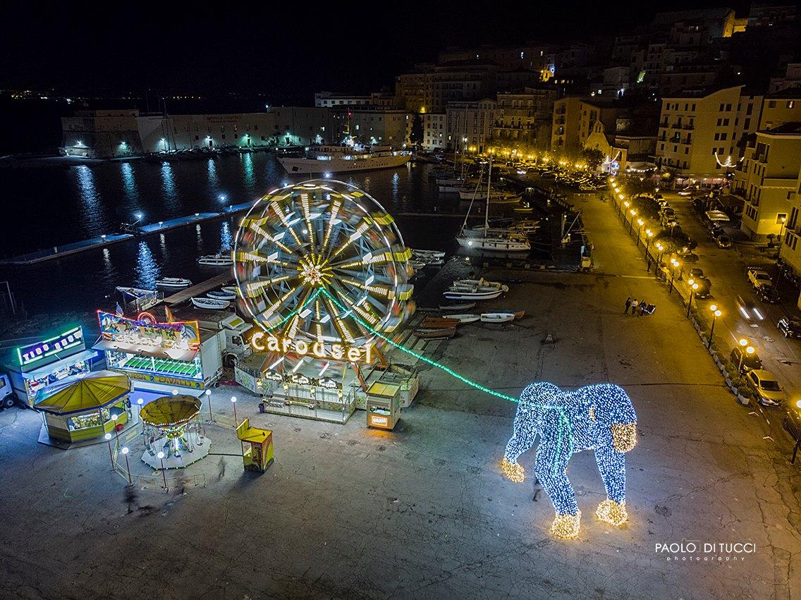 luminarie di Gaeta, favole di luce, mercatini di Natale, viaggi con i bambini, viaggi on the road