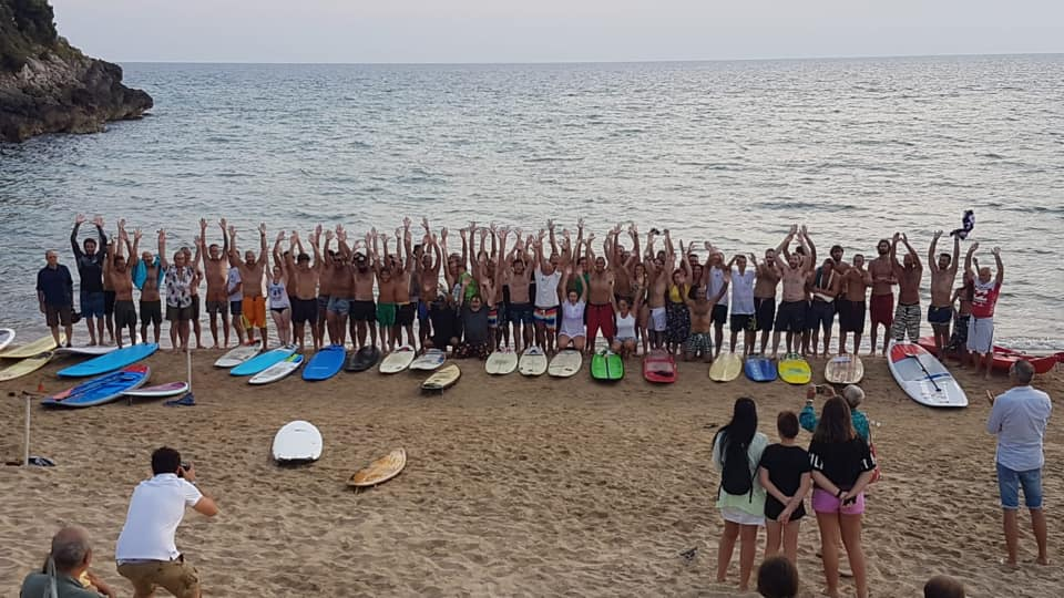 Leonardo D'angelo, surf, Gaeta, trevaligie