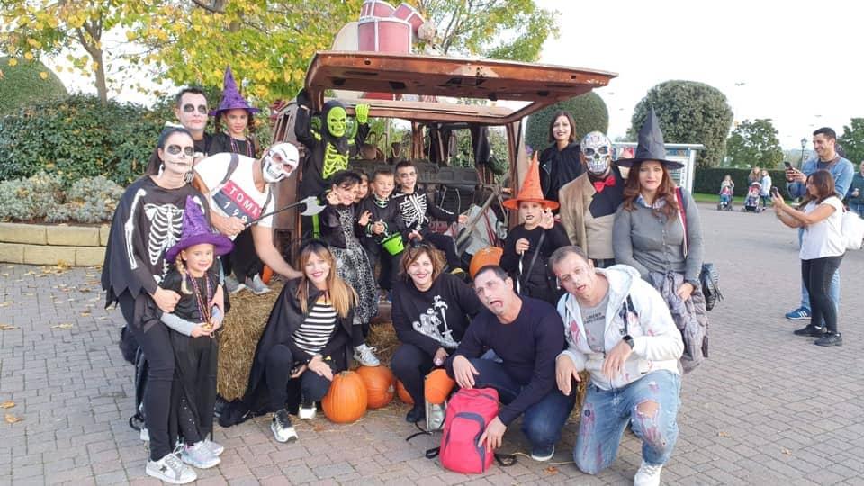 halloween party, viaggio di gruppo, gardaland, trevaligie