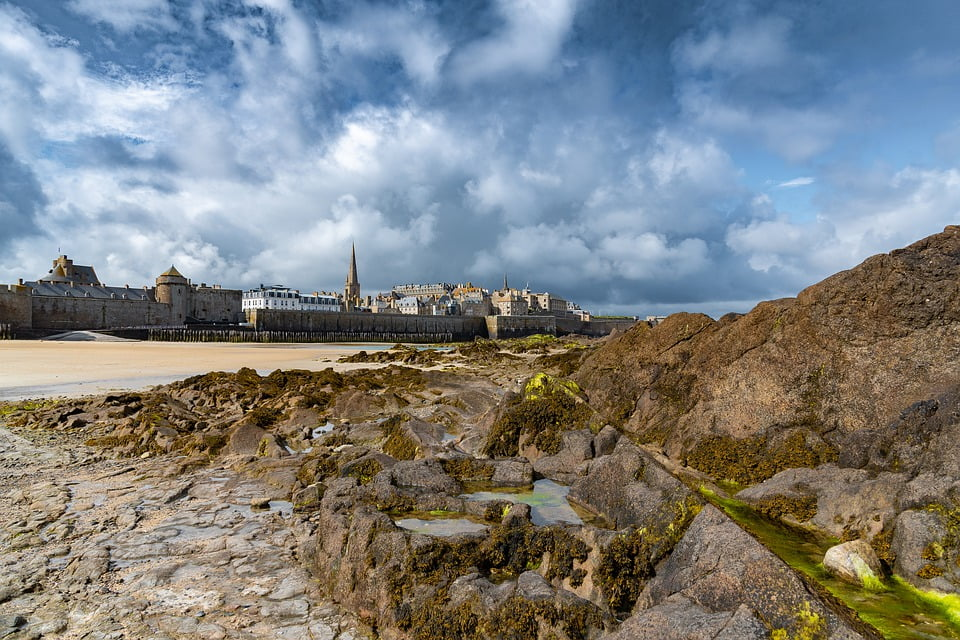 Saint Malo, cosa vedere a saint malo, le maree di saint malo, trevaligie