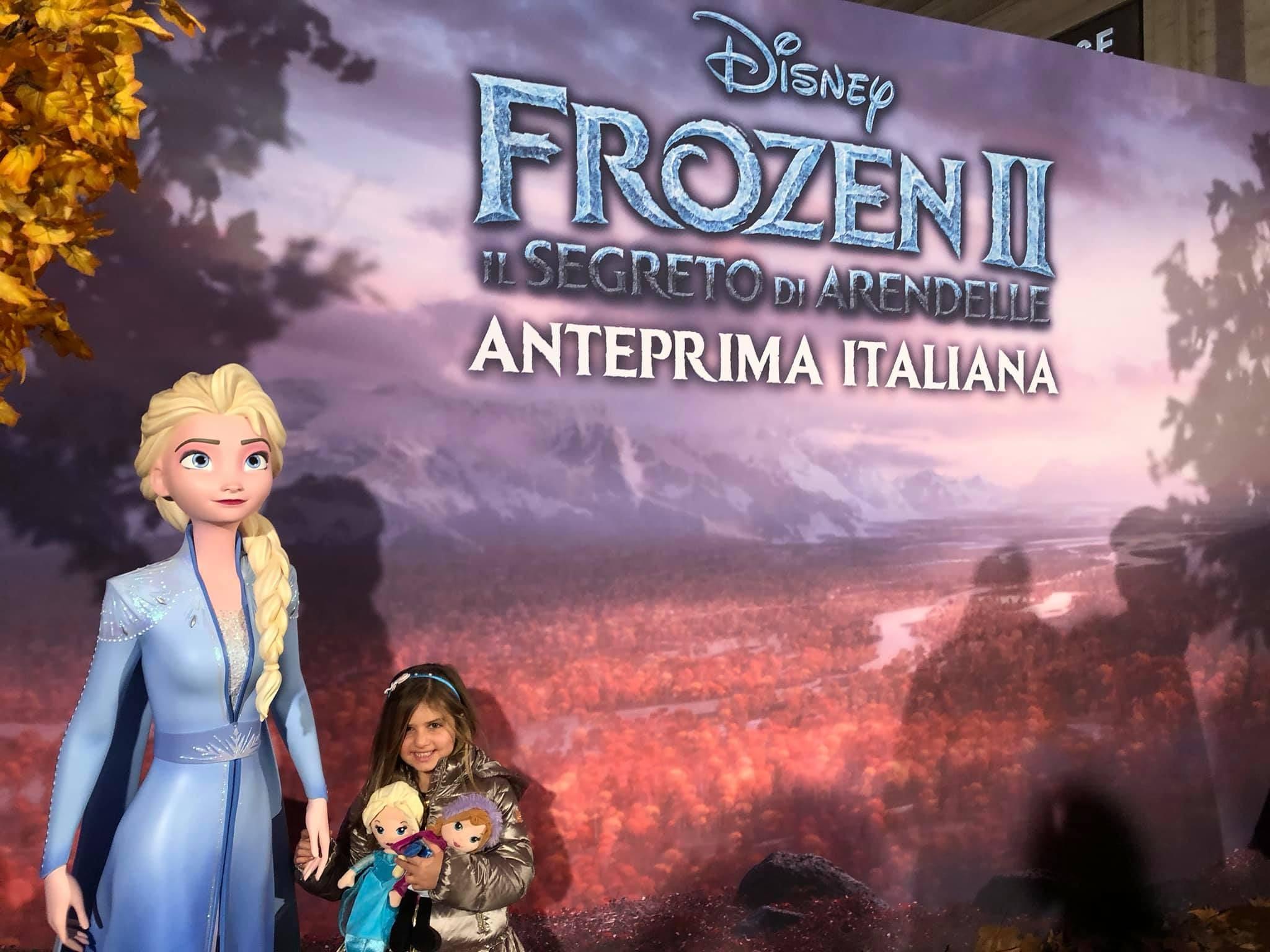 Frozen 2, Il segreto di Arendelle, anteprima italiana, red carpet frozen2, trevaligie