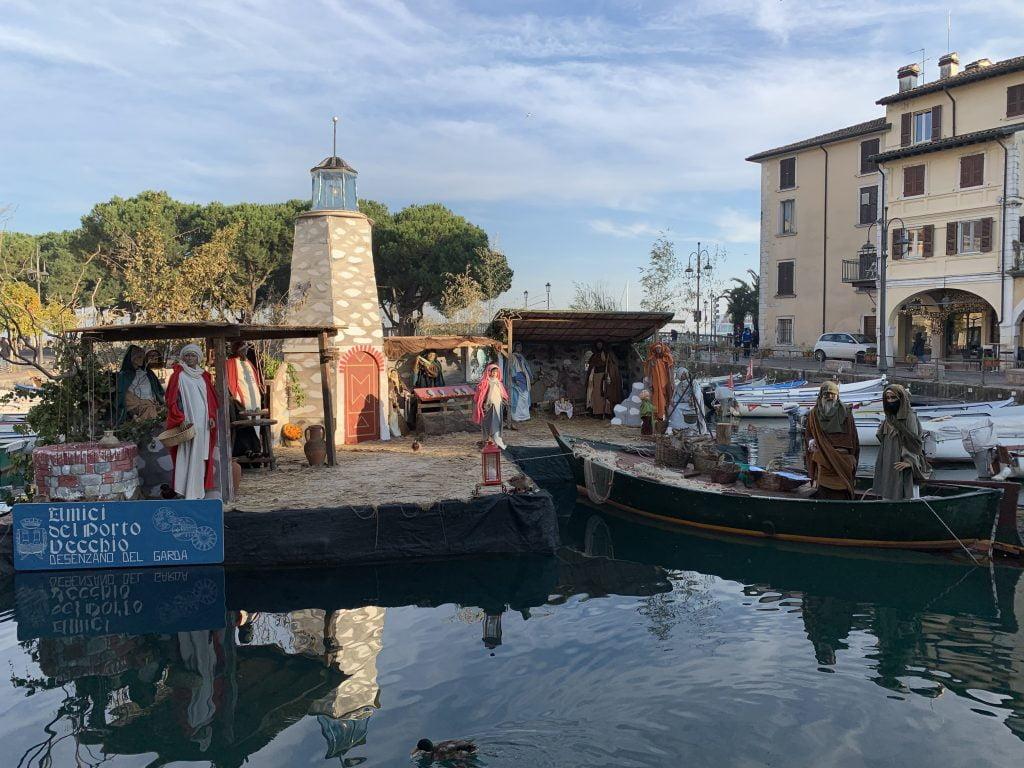 Desenzano in inverno, lago di Garda con i bambini, trevaligie
