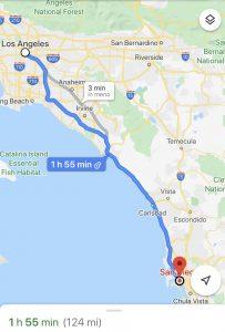 California on the road, strada panoramica, viaggio negli usa, trevaligie
