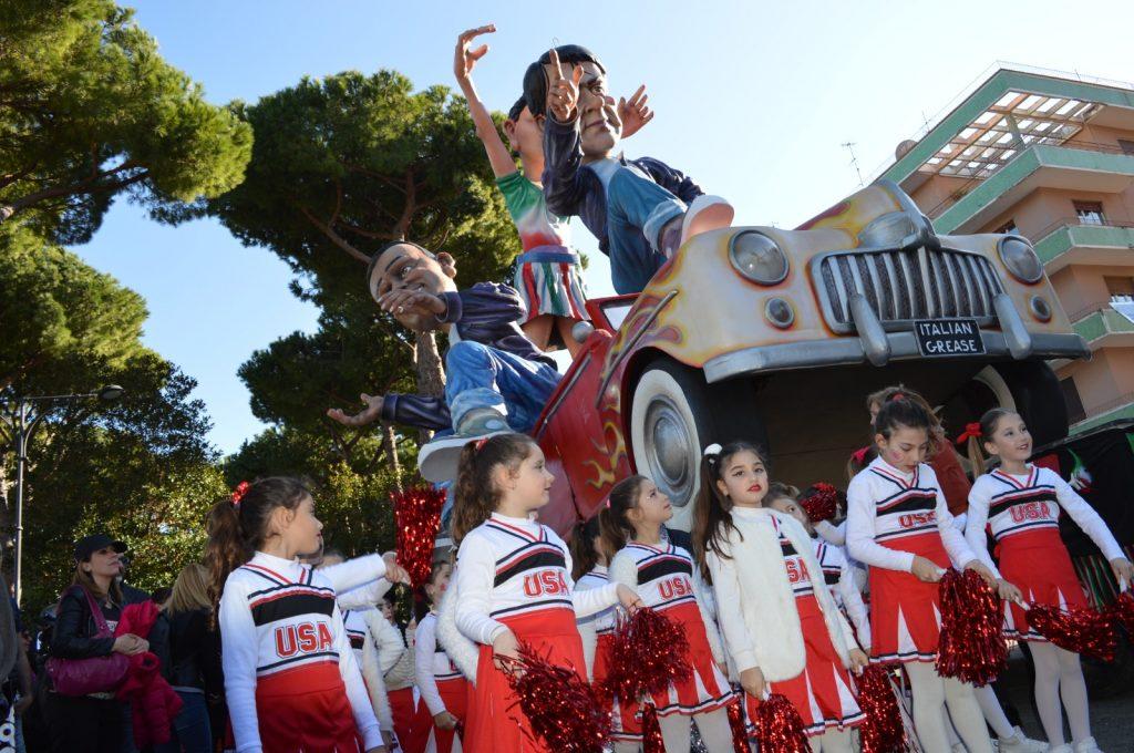 Carnevale a Gaeta, golfo di Gaeta, Lazio, trevaligie