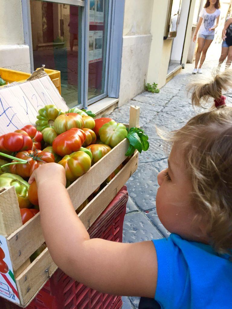 Spagnolette, pomodori, Gaeta, trevaligie