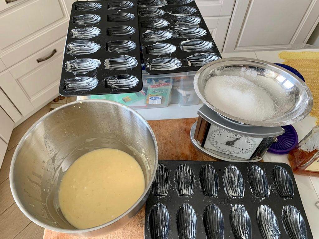 Madeleines, ricetta delle madeleines francesi, ricette dal mondo, trevaligie