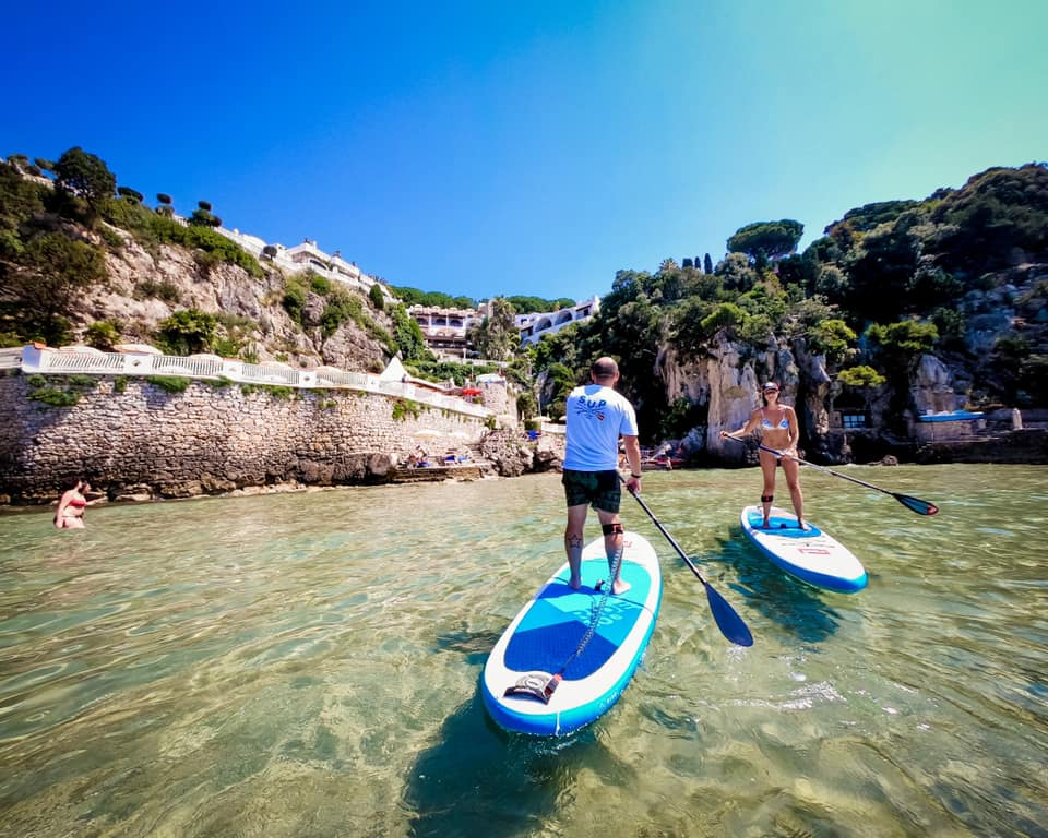 Scuola Sup a Gaeta con il Sup Club del Grand Hotel Le Rocce