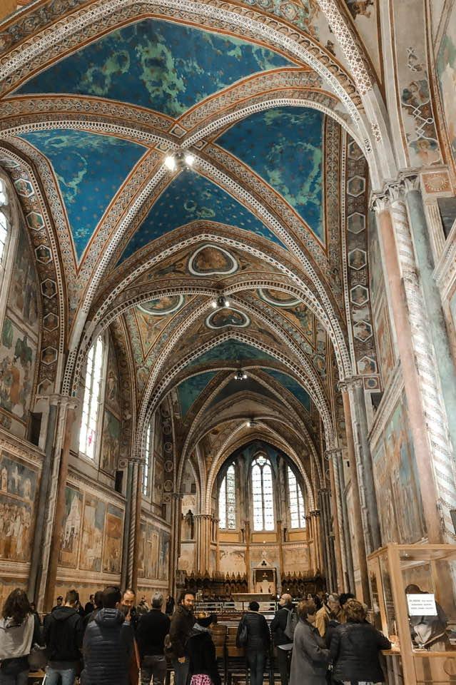 Preziose decorazioni fanno della Basilica di San Francesco un patrimonio artistico e culturale dal valore inestimabile.