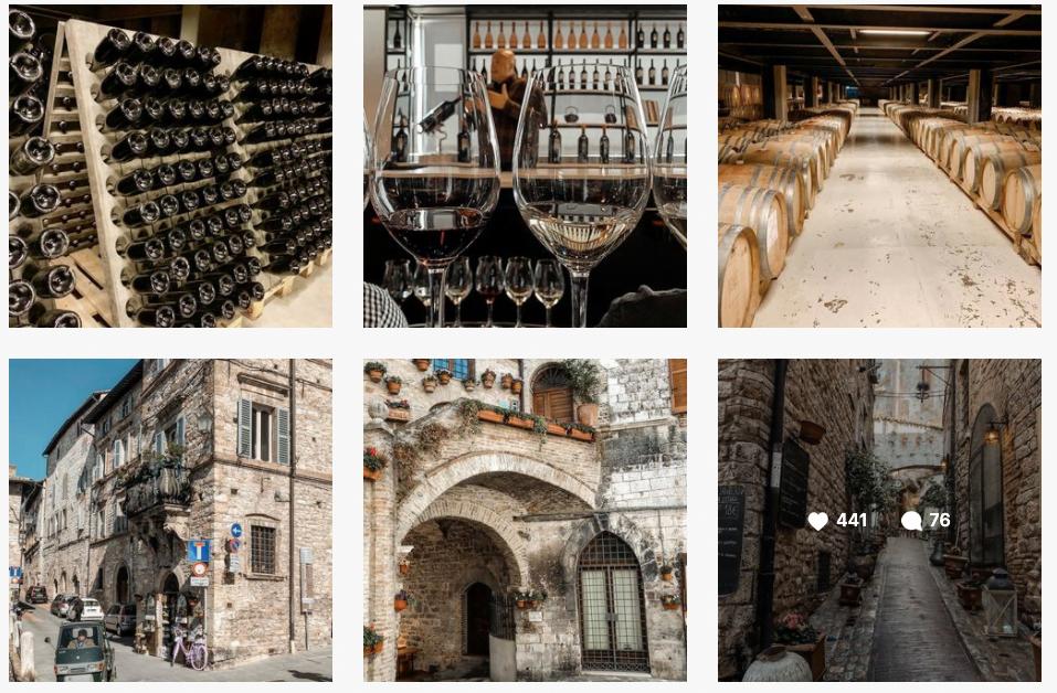 I tuoi contenuti devono attenersi alla tua presentazione in bio. Se tratti di viaggi, gli utenti di Instagram Si aspettano di trovare post relativi a paesaggi e vacanze.
