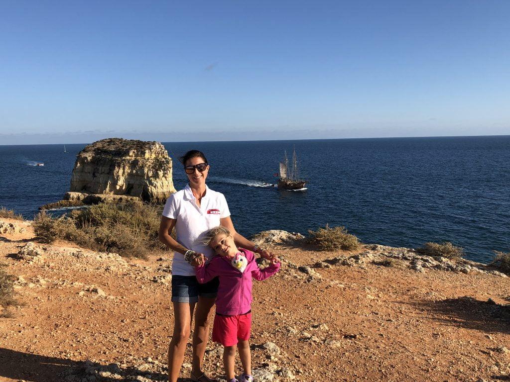 Punta do Altar. Un meraviglioso punto paesaggistico vicino a Ferragudo, con lunghissimi sentieri immersi nella natura che portano fino a Carvoeiro.