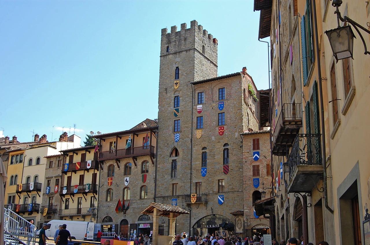 Arezzo, bellissima cittadina toscana, è facile da visitare con i bambini.