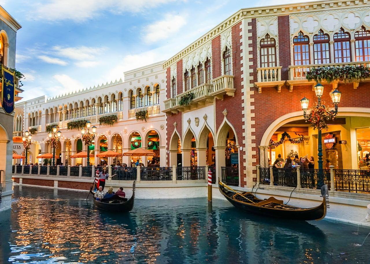 The Venetian, hotel da sogno a Las Vegas.