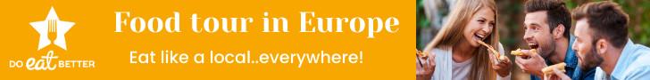 Mangia come un local in ogni parte dell'Europa con Do Eat Better! Prenota subito la tua esperienza gastronomica!
