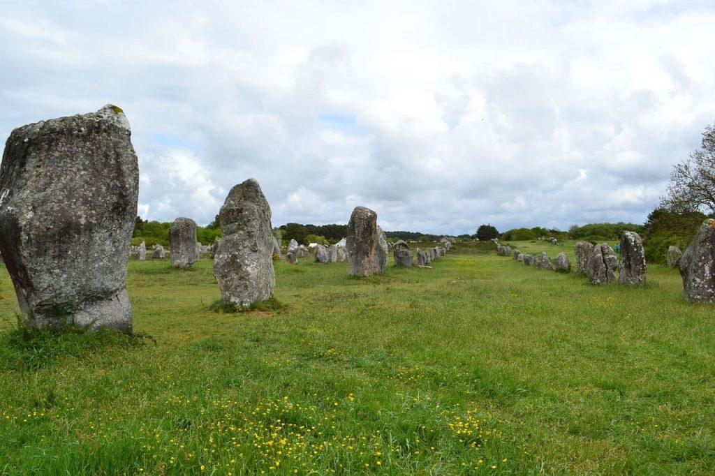 Carnac e gli allineamenti di megaliti