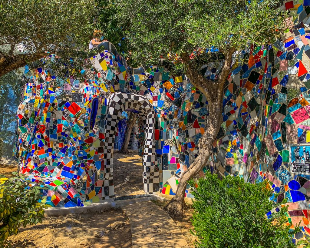 Il giardino dei tarocchi, rappresentazione degli arcani maggiori