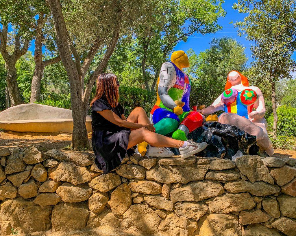 Il giardino dei tarocchi. Viaggio in Toscana con i bambini