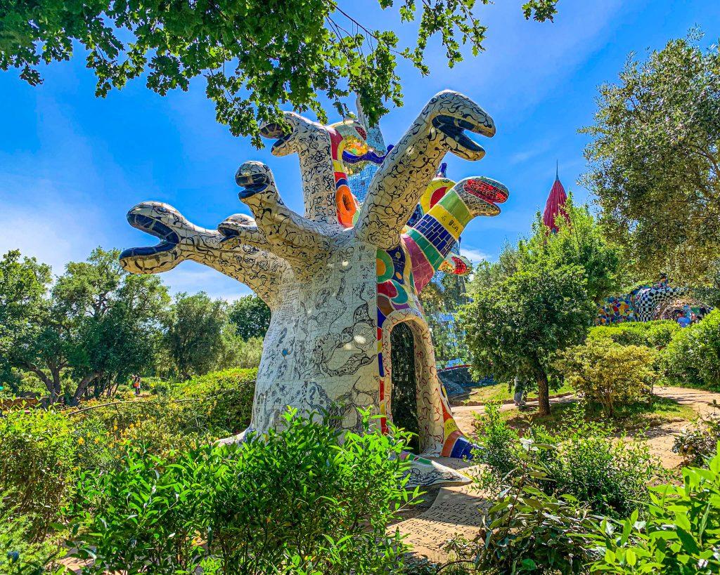 Il giardino dei tarocchi a Grosseto