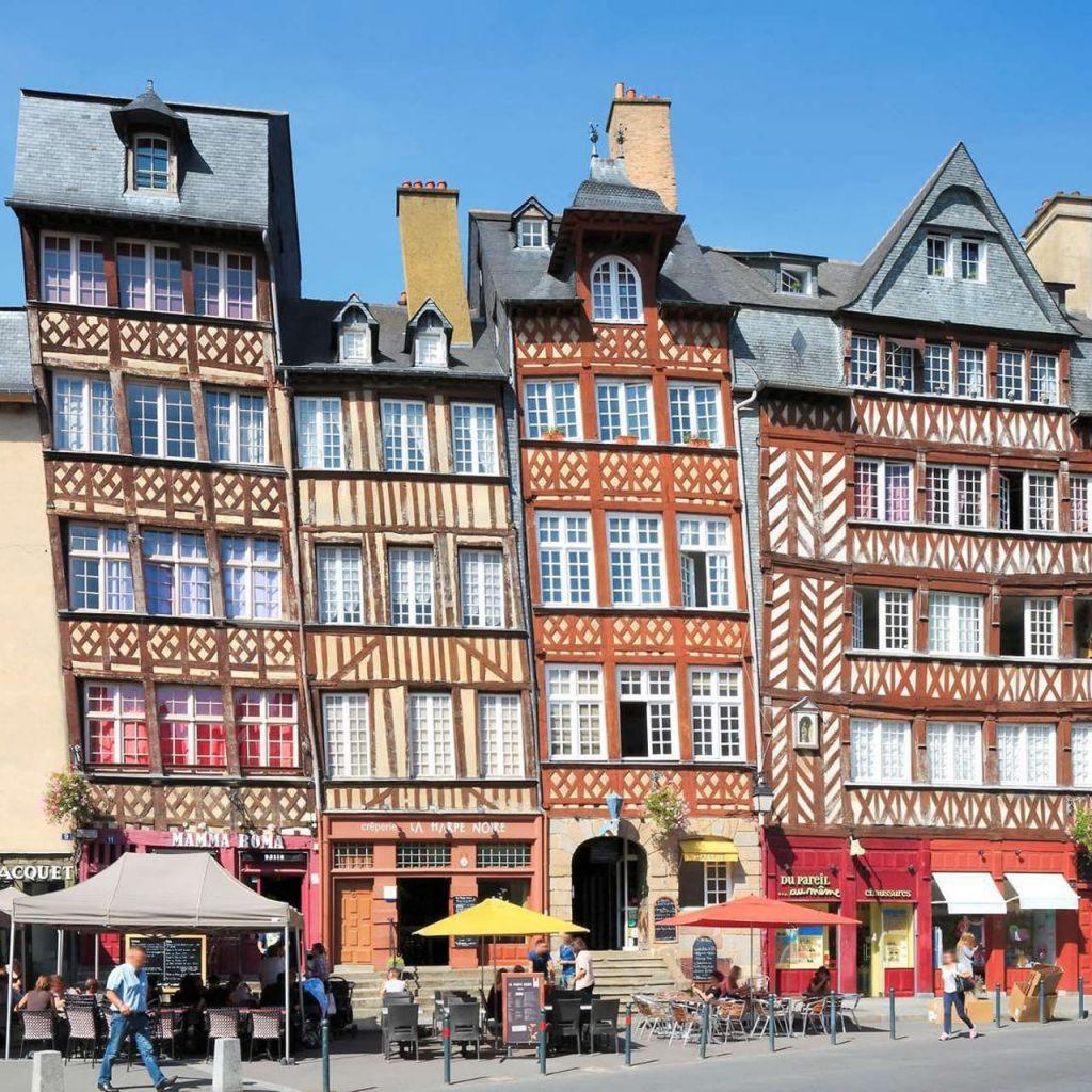 Rennes. cosa vedere nel centro storico della città.
