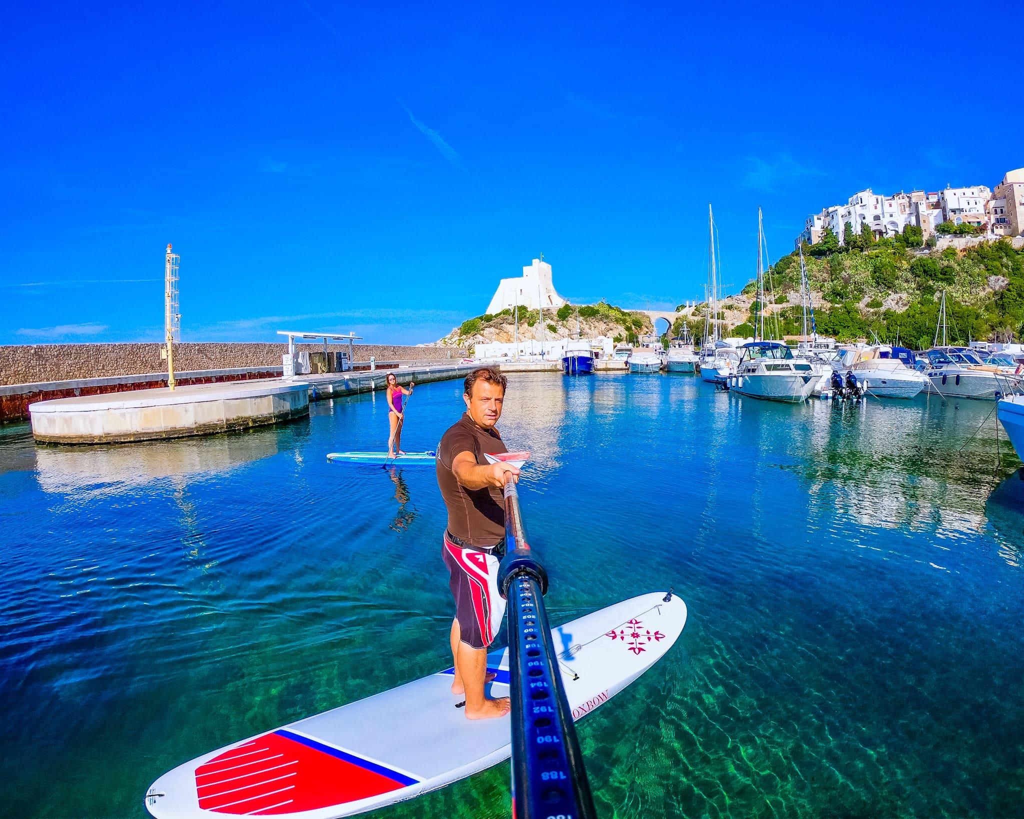 Sperlonga in sup e canoa, passeggiata sportiva non agonistica a cura dello CSAIn.