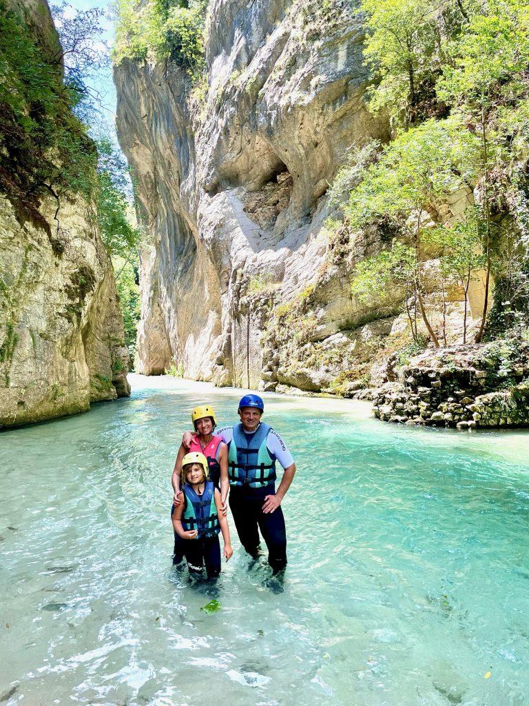 Rafting in Umbria con i bambini