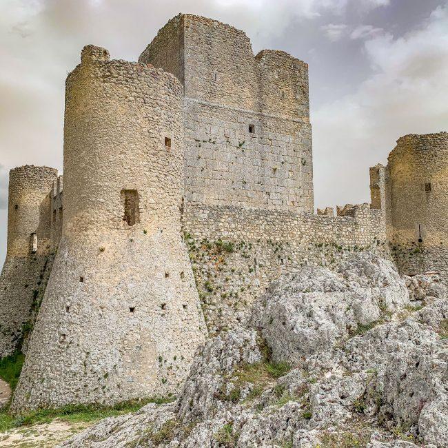Rocca calascio. Il castello più alto d'Europa.