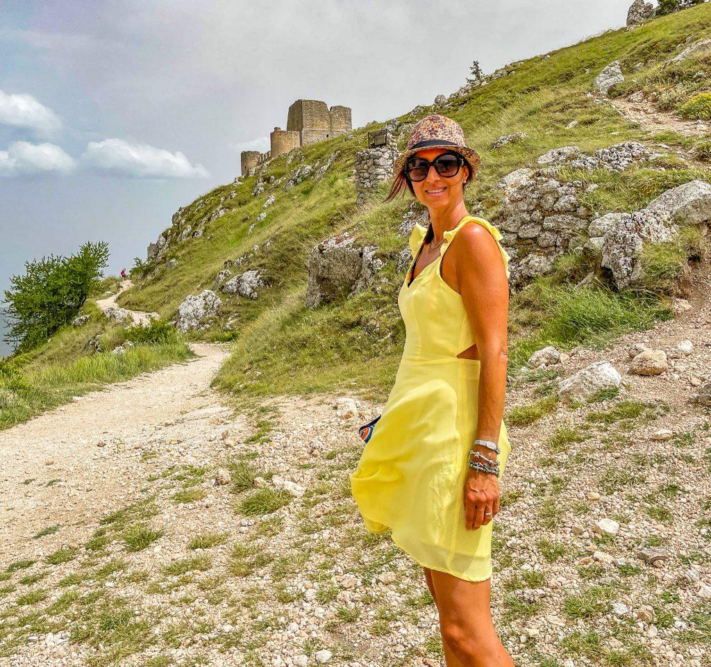 Rocca calascio. Viaggio on the road in Abruzzo