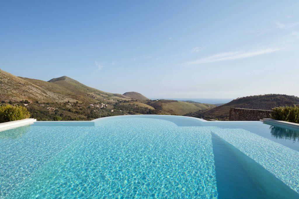 Collina degli Ulivi nel Lazio