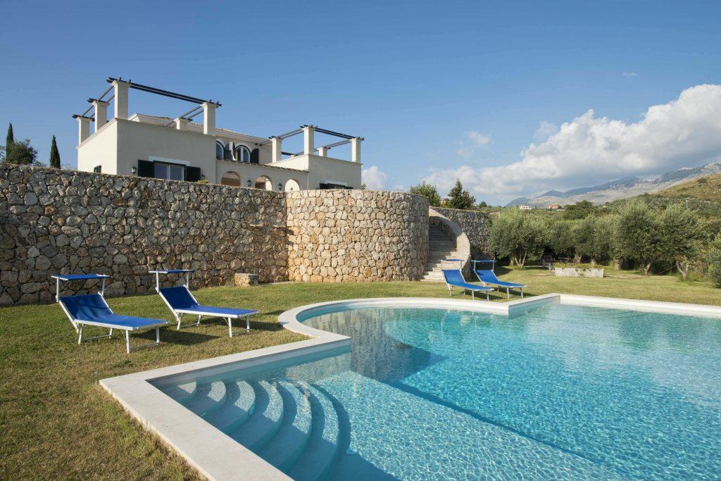 collina degli Ulivi. Dove dormire nel Lazio.