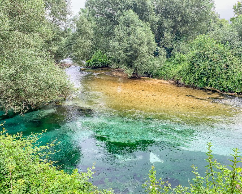 Il fiume Gari nel Lazio