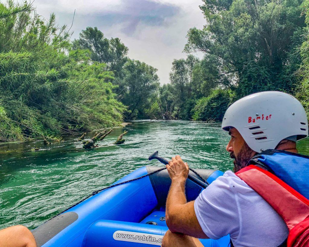 Rafting nel Lazio
