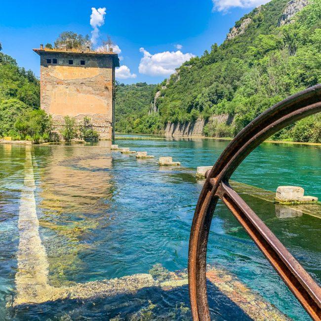Le Mole di Narni e l'Antico porto romano di Stifone in Umbria