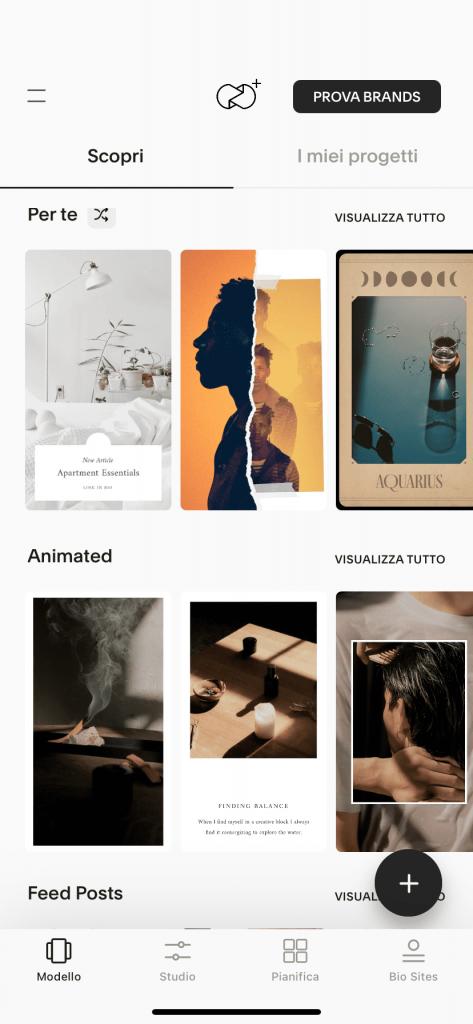 Unfold. Le migliori app per creare stories accattivanti su instagram
