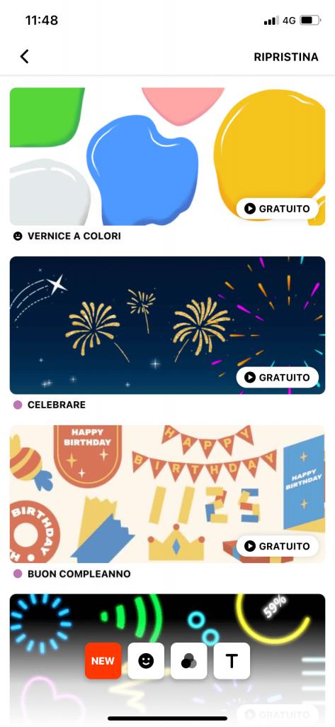 InShot. le migliori app per creare stories su instagram