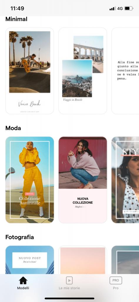 Mojo. le migliori app per creare stories su instagram