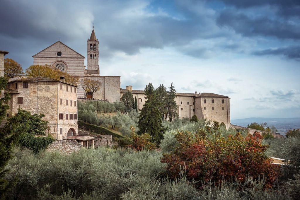 Viaggiare in autunno in Italia.